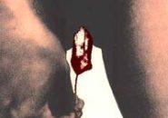 Czerwona Flaga - Menstruacja na obrazie!