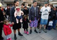Mężczyźni solidarni z kobietami: mini nie jest zaproszeniem!